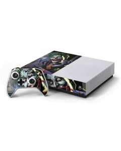 The Joker Put on a Smile Xbox One S Console and Controller Bundle Skin
