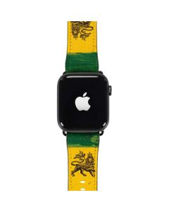 The Lion of Judah Rasta Flag Apple Watch Case