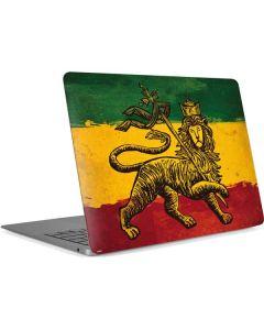 The Lion of Judah Rasta Flag Apple MacBook Air Skin