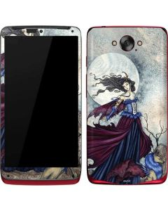 The Moon is Calling Fairy and Dragon Motorola Droid Skin