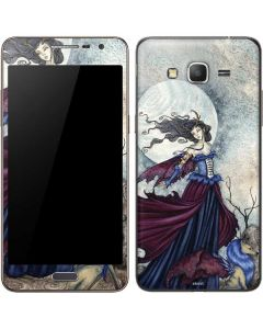 The Moon is Calling Fairy and Dragon Galaxy Grand Prime Skin
