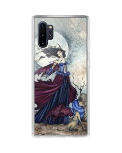 The Moon is Calling Fairy and Dragon Galaxy Note 10 Plus Clear Case