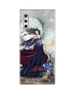 The Moon is Calling Fairy and Dragon Galaxy Note 10 Skin