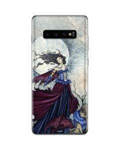 The Moon is Calling Fairy and Dragon Galaxy S10 Plus Skin