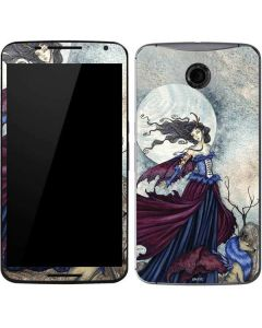 The Moon is Calling Fairy and Dragon Google Nexus 6 Skin