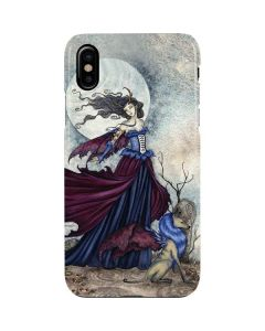 The Moon is Calling Fairy and Dragon iPhone XS Max Lite Case