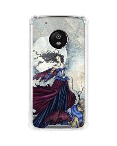 The Moon is Calling Fairy and Dragon Moto G5 Plus Clear Case