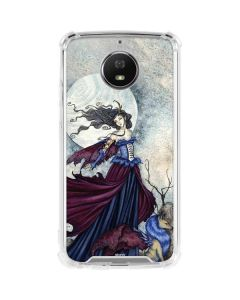 The Moon is Calling Fairy and Dragon Moto G5S Plus Clear Case