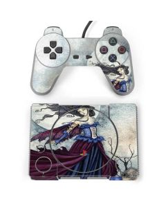 The Moon is Calling Fairy and Dragon PlayStation Classic Bundle Skin