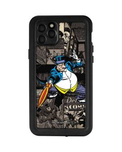 The Penguin Mixed Media iPhone 11 Pro Max Waterproof Case
