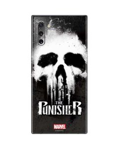The Punisher White Skull Galaxy Note 10 Skin