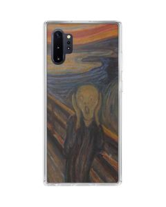 The Scream Galaxy Note 10 Plus Clear Case