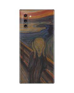 The Scream Galaxy Note 10 Skin