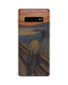 The Scream Galaxy S10 Plus Skin