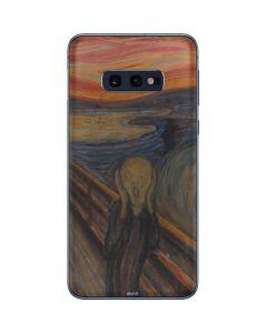 The Scream Galaxy S10e Skin