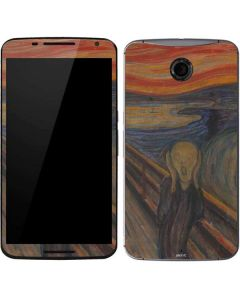 The Scream Google Nexus 6 Skin