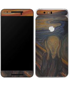 The Scream Google Nexus 6P Skin