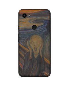 The Scream Google Pixel 3a Skin
