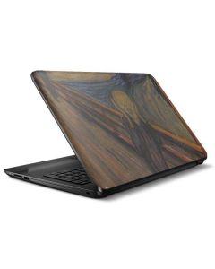 The Scream HP Notebook Skin