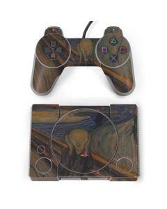 The Scream PlayStation Classic Bundle Skin
