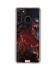 The Symbiotes Galaxy A21 Clear Case