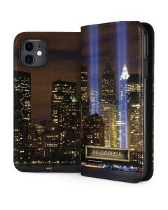 The Tribute in Light Memorial iPhone 11 Folio Case