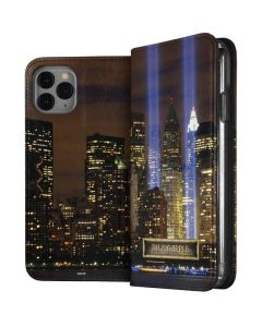 The Tribute in Light Memorial iPhone 11 Pro Folio Case