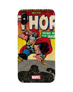 Thor Meets The Immortals iPhone XS Max Lite Case