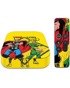 Thor vs Loki Apple TV Skin