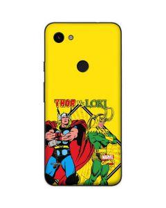 Thor vs Loki Google Pixel 3a Skin