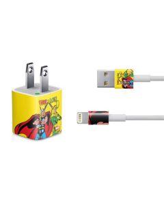 Thor vs Loki iPhone Charger (5W USB) Skin