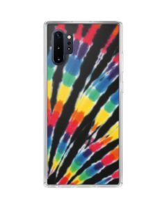 Tie Dye - Rainbow Galaxy Note 10 Plus Clear Case