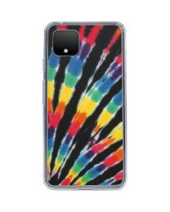 Tie Dye - Rainbow Google Pixel 4 XL Clear Case