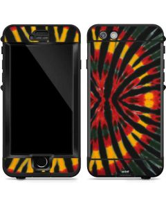 Tie Dye - Rasta LifeProof Nuud iPhone Skin