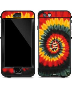 Tie Dye - Rasta Spiral LifeProof Nuud iPhone Skin