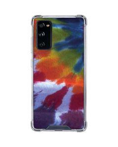 Tie Dye Galaxy S20 FE Clear Case