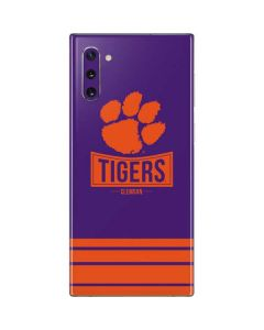 Tigers Clemson Galaxy Note 10 Skin
