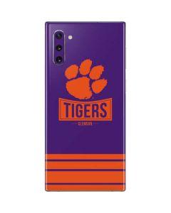 Tigers Clemson Galaxy Note 10 Skin
