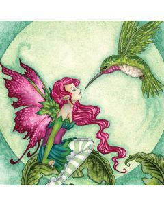 Flirting Fairy and Hummingbird Playstation 3 & PS3 Slim Skin