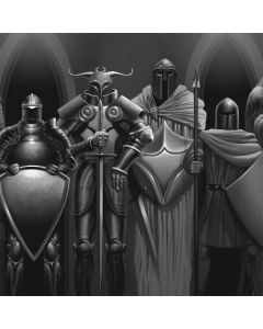 Knights Playstation 3 & PS3 Slim Skin