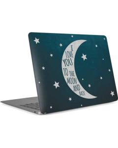 To The Moon And Back Apple MacBook Air Skin
