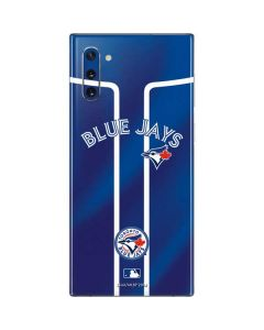 Toronto Blue Jays Alternate Jersey Galaxy Note 10 Skin