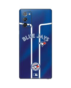 Toronto Blue Jays Alternate Jersey Galaxy Note20 5G Skin