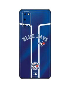 Toronto Blue Jays Alternate Jersey Galaxy S20 Skin