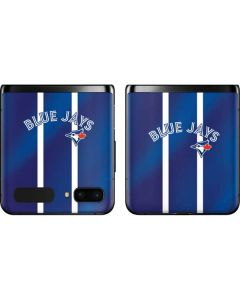 Toronto Blue Jays Alternate Jersey Galaxy Z Flip Skin