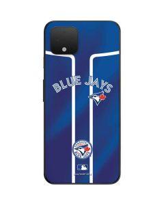 Toronto Blue Jays Alternate Jersey Google Pixel 4 Skin