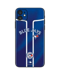 Toronto Blue Jays Alternate Jersey iPhone 11 Skin