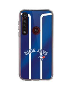 Toronto Blue Jays Alternate Jersey Moto G8 Plus Clear Case