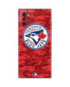 Toronto Blue Jays Digi Camo Galaxy Note 10 Plus Skin