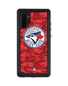 Toronto Blue Jays Digi Camo Galaxy Note 10 Plus Waterproof Case